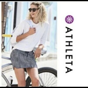 Athleta midtown skort skirt light easy flow